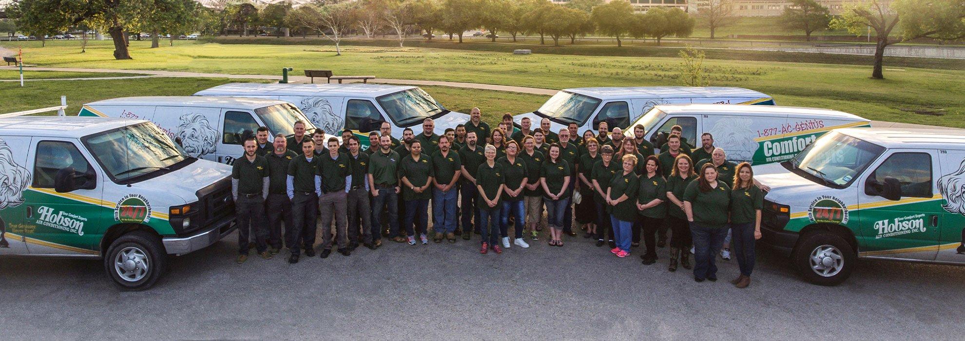 Comfort Experts Dallas Team